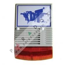 KDT PS-128KW KABLOSUZ DİNAMİK FLAŞÖRLÜ 128DB HARİCİ SİREN